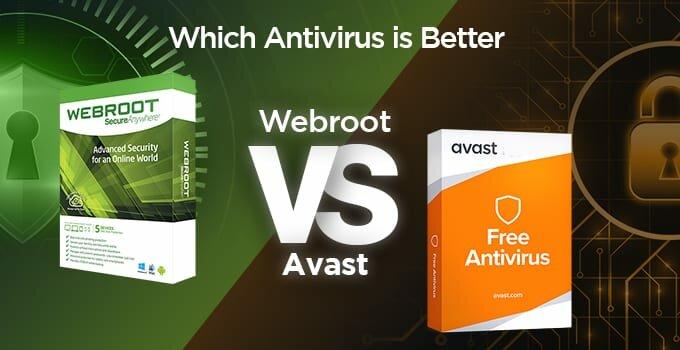 Webroot vs Avast